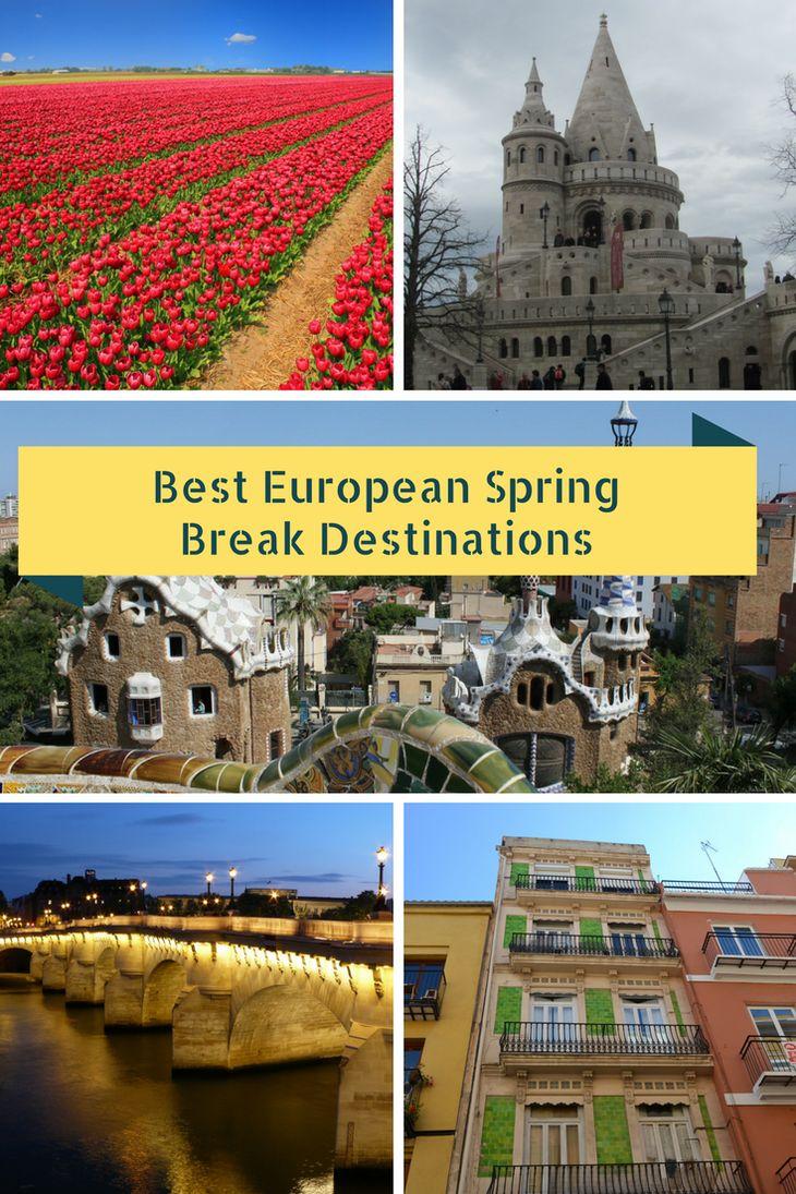 Best European Spring Break destinations to put on your list