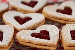 Linzer Cookies take two almond flavored cookies and sandwiches them together with a layer of jam. From Joyofbaking.com With Demo Video