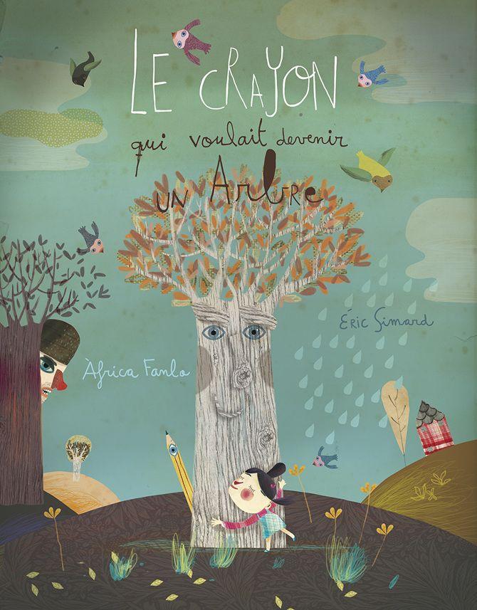 Le Crayon II - Àfrica Fanlo | Illustration, Books, Toys, Artwork, Screen Prints