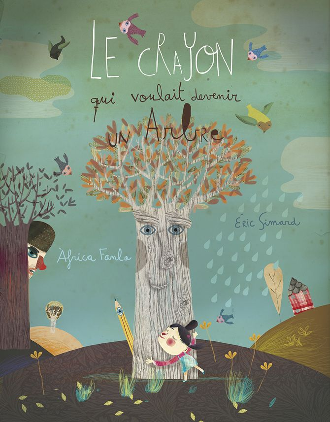 Le Crayon II - Àfrica Fanlo | Illustration, Books, Toys, Artwork, Screen Prints