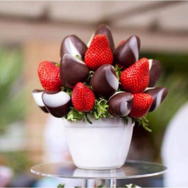 Dipped strawberry bouquet!