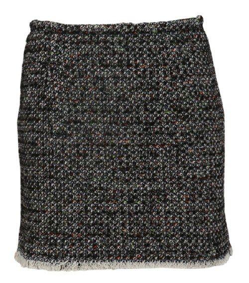 Tweed μινι φούστα