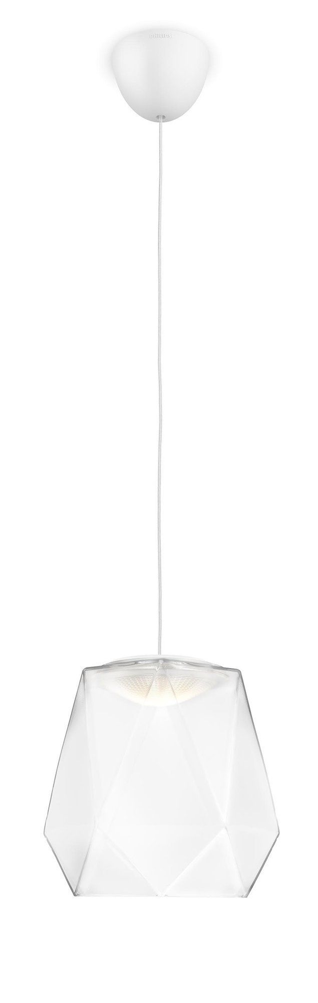 Philips suspension led italo blanche led int gr e 4 5w for Eclairage interieur led