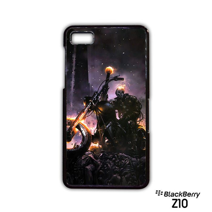Night Ghost Rider night fight AR for Blackberry Z10Q10 phonecase