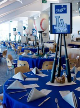99 best elegant sports themed party images on pinterest birthdays la dodgers wedding reception baseball centerpiece switch to being the cardinals and it would be perfect junglespirit Images
