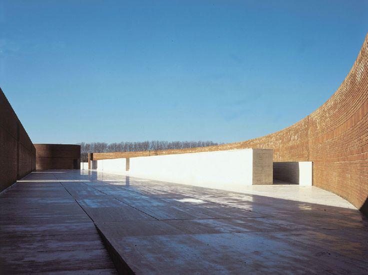 massimo carmassi / ampliamento del cimitero di san piero a grado