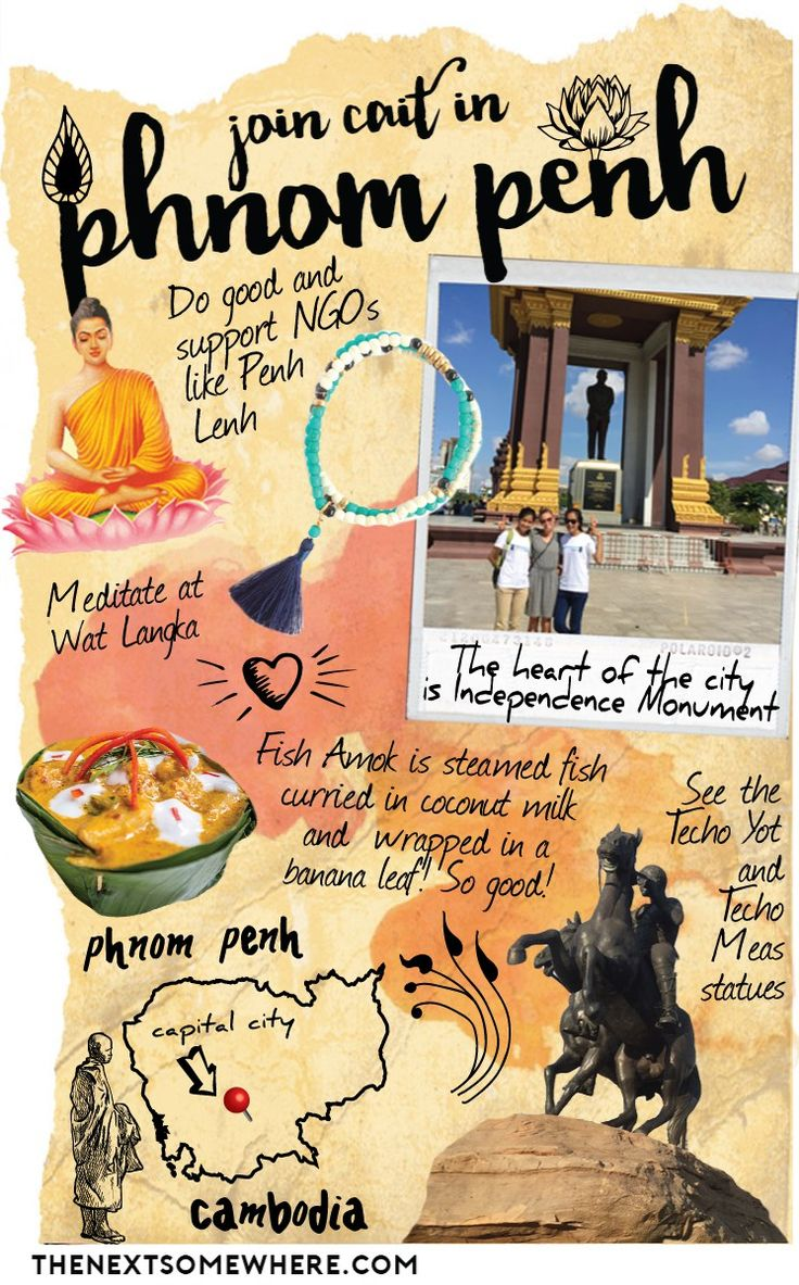 Top Five Things To Do in Phnom Penh // Whereabouts