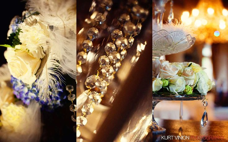 interior decorations from a recent wedding at the wonderful Chateau Dobris