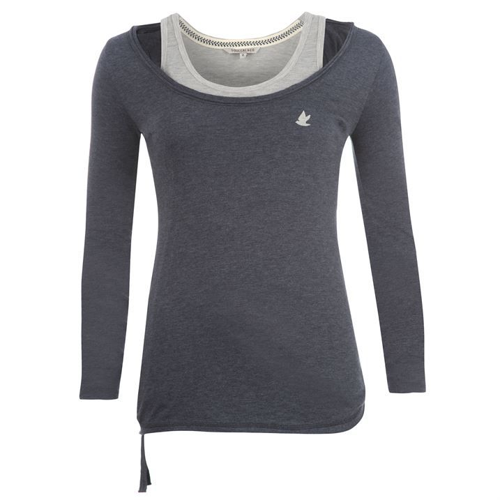 #SoulCal #Double #Layer #TShirt #Ladies Just For £9.50 #UK #USC SHOP NOW -  http://www.couponndeal.co.uk/coupon/soulcal-double-layer-t-shirt-ladies-just-for-9.50?utm_source=SoulCal%20Double%20Layer%20T%20Shirt%20Ladies%20Just%20For%20%C2%A39.50&utm_medium=CND%20Team%20A%20UK&utm_campaign=CND%20Team%20A%20UK