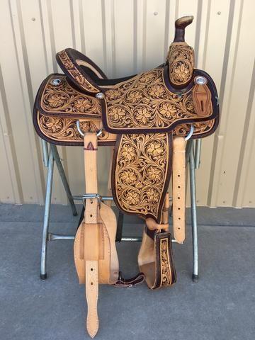 CSR 170 Corriente Team Roping Saddle