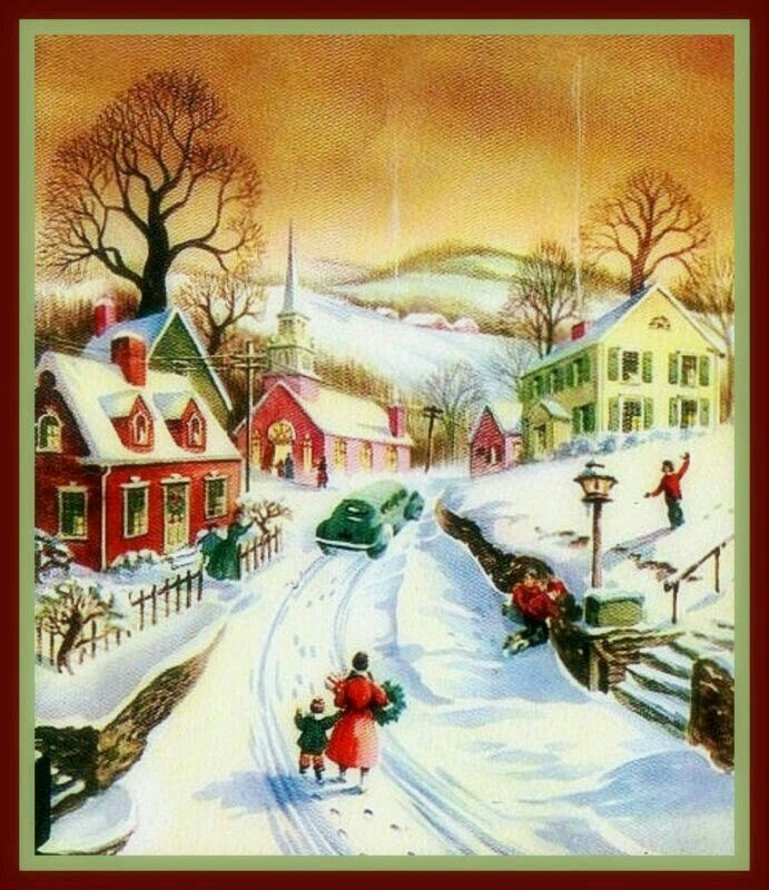 745 Best Having A Old Fashioned Christmas Images On Pinterest