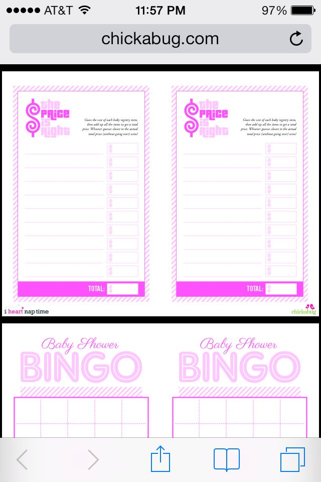 Hereu0027s Where You Can Get These Free Printables For Baby Shower Games For  Girls Boys Or