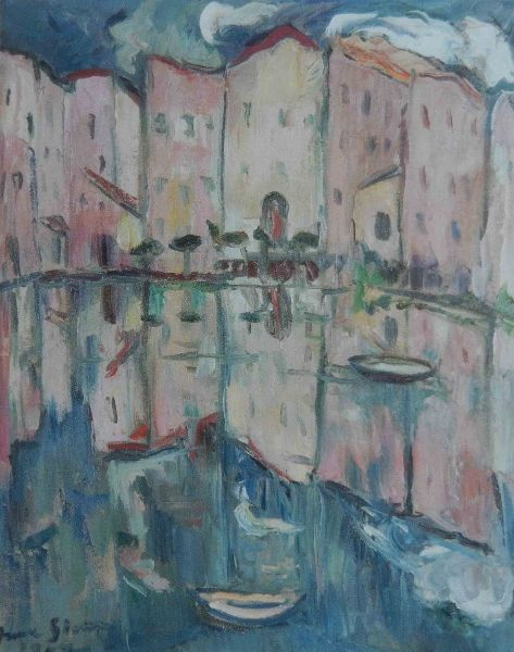 Irma Stern - Venice Reflections