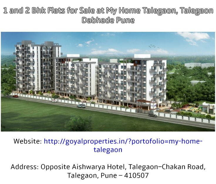 1 and 2 Bhk Flats for Sale at My Home Talegaon, Talegaon Dabhade Pune