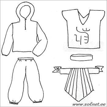Как сделать карнавальный костюм нинзя