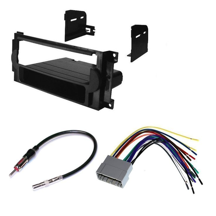 CAR STEREO DASH INSTALL MOUNTING KIT WIRE HARNESS RADIO