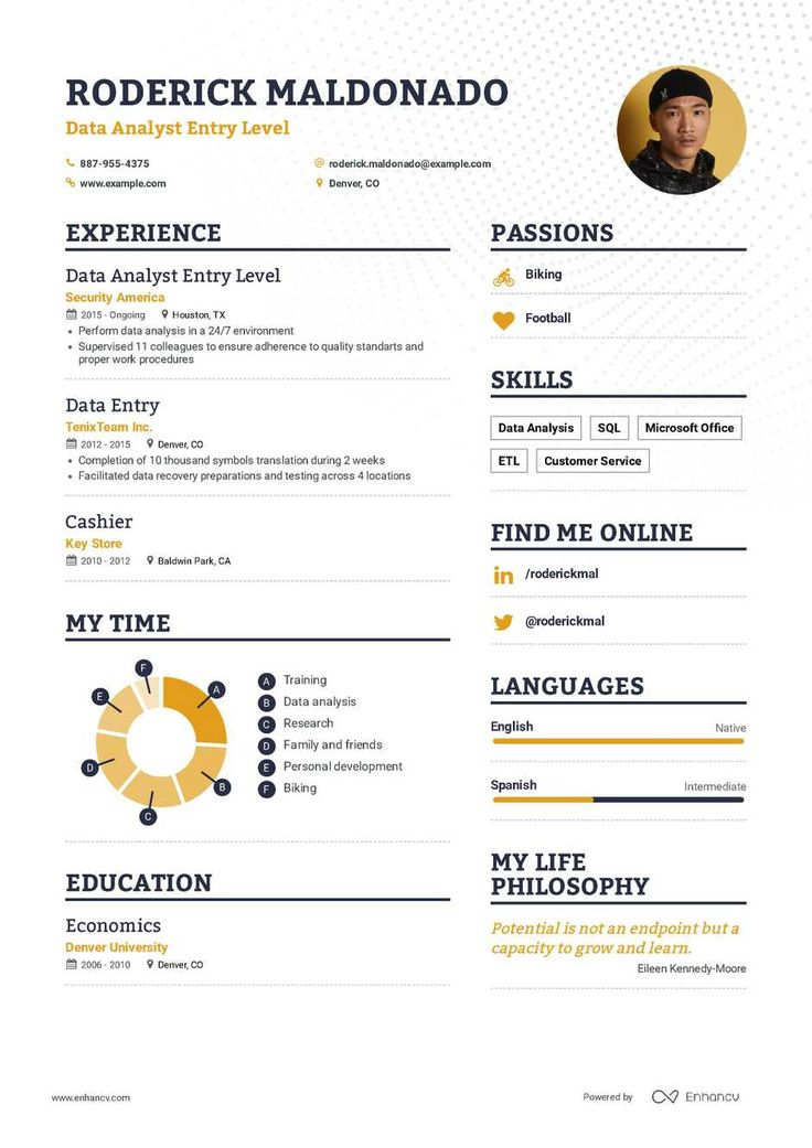 Data Scientist Resume Example & Writing Tips Resume