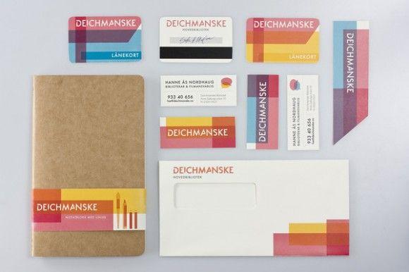 Deichmanske Main Library Branding / Identity / DesignBranding / Identity / Design