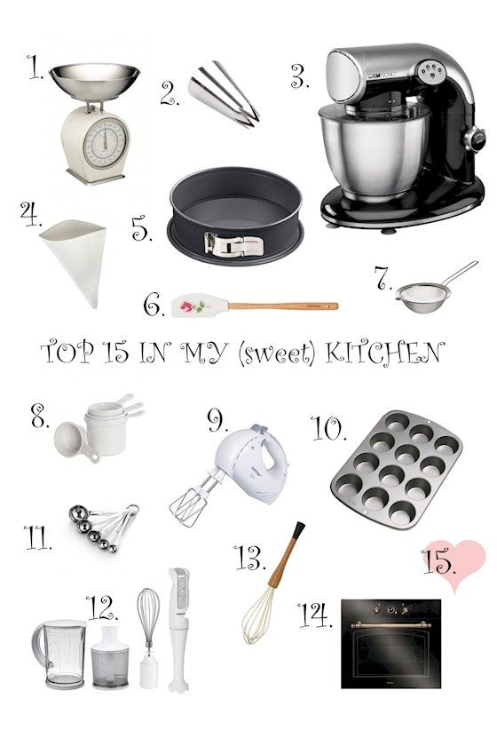Top 15 in my (sweet) kitchen || mysweetworld