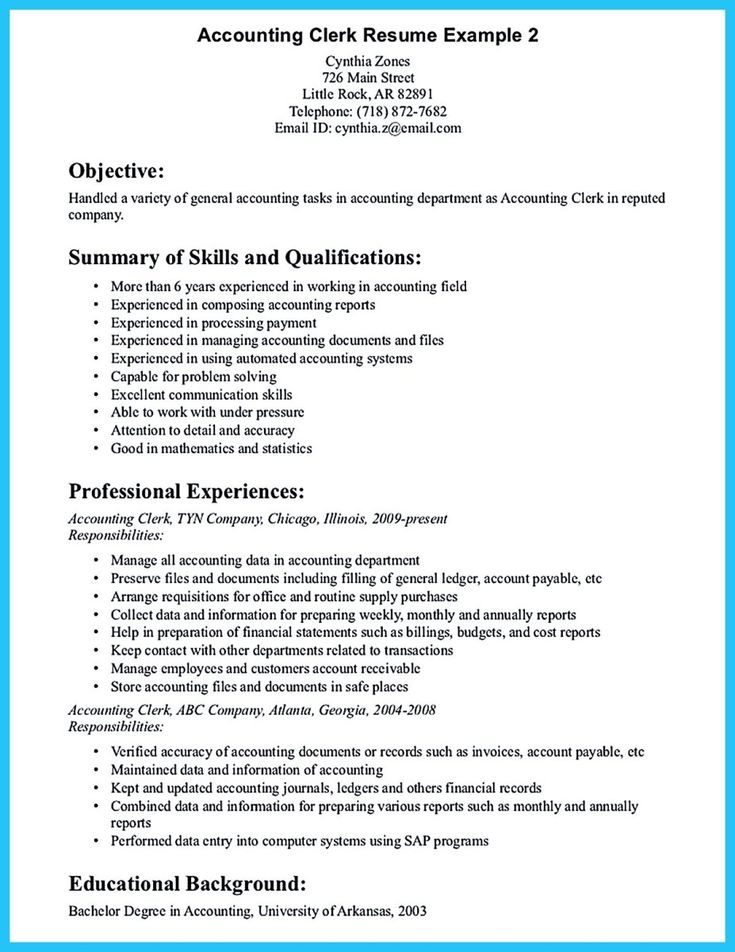 Tele Interviewer Resume accounts receivable clerk sample resume - accounts receivable clerk sample resume