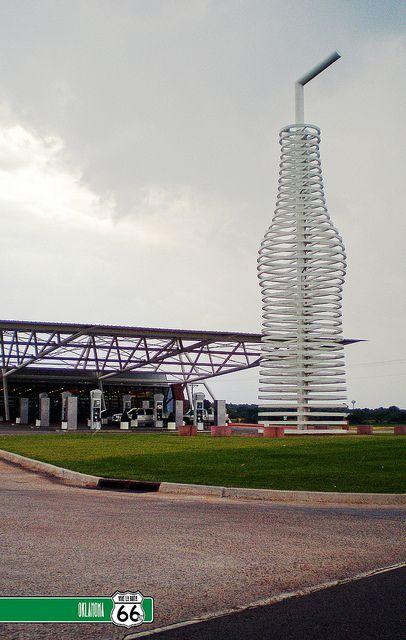 Pops Restaurant, Route 66 - Arcadia, Oklahoma