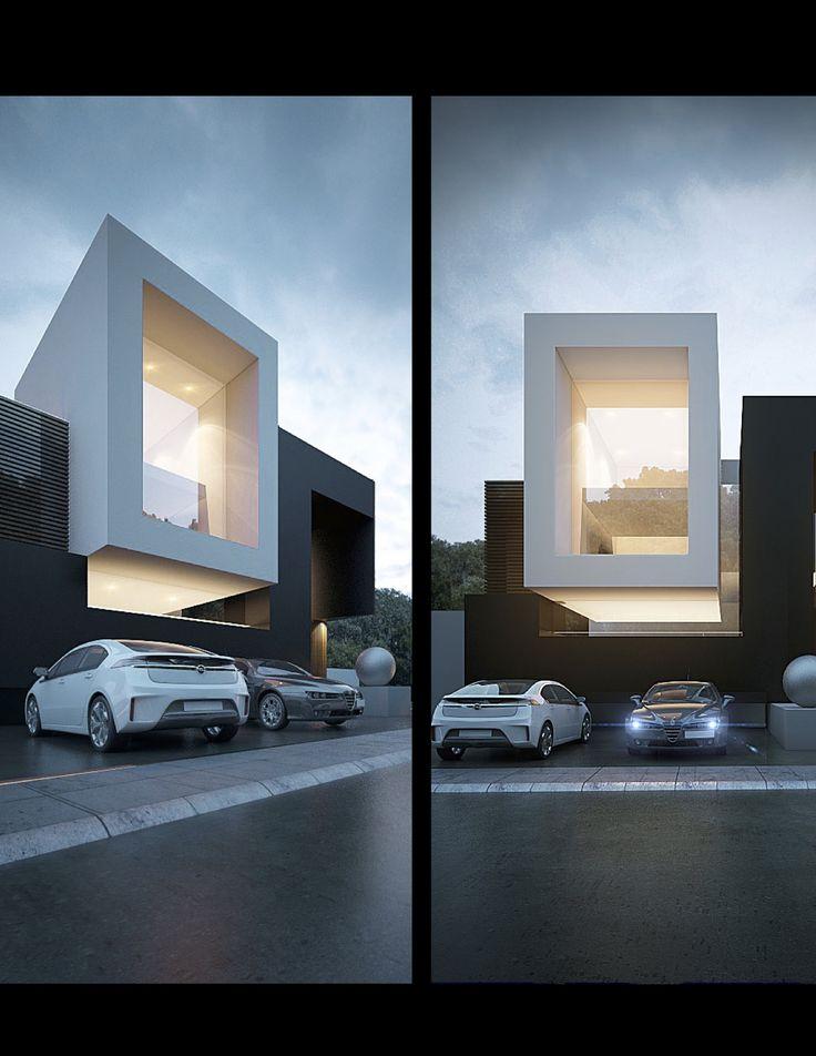 Creato fachada facade design contemporaneo for Amazing small modern houses