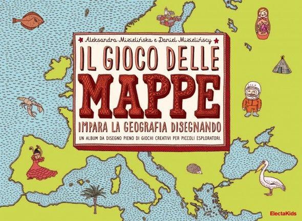 Il gioco delle mappe per imparare la geografia disegnando