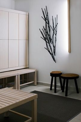 TUNTO design led by Mikko Kärkkäinen Plain Finnish design Such a peacefull space