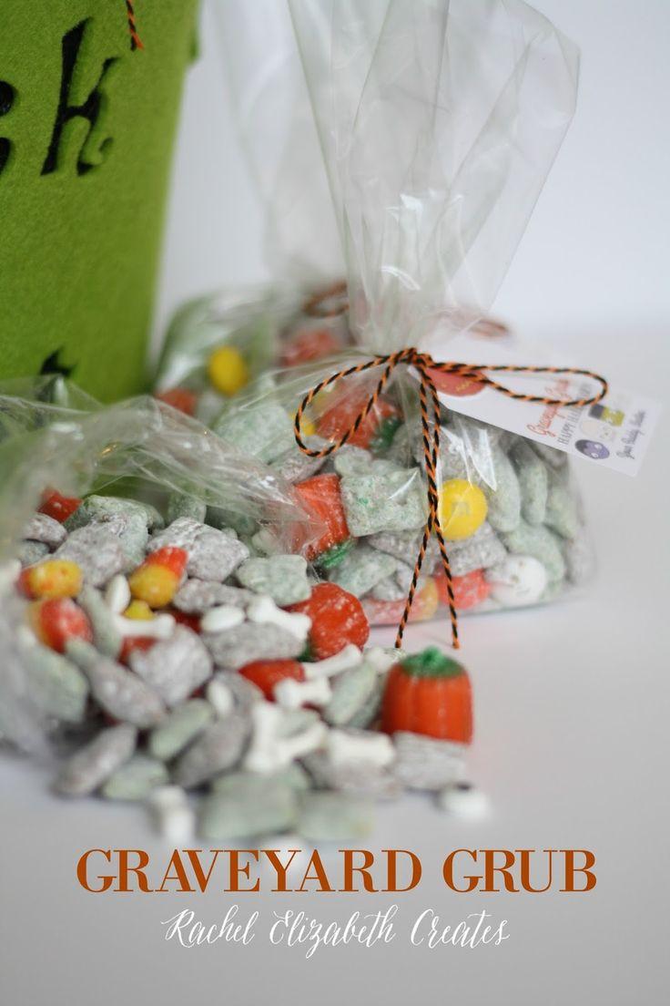 Rachel Elizabeth Creates: Graveyard Grub- Halloween Class Treats