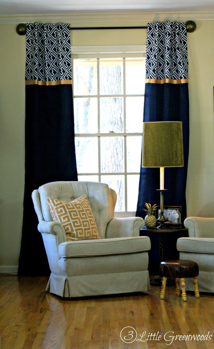 How to make simple curtains - How To Make Curtains The Easy No Sew Way