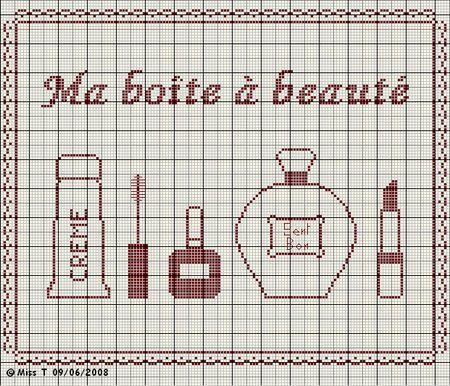 salle de bains - bathroom - accessoires - point de croix-cross stitch - broderie-embroidery- Blog : http://broderiemimie44.canalblog.com/