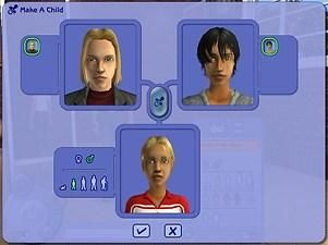 Mod The Sims - Modified Hair Genetics