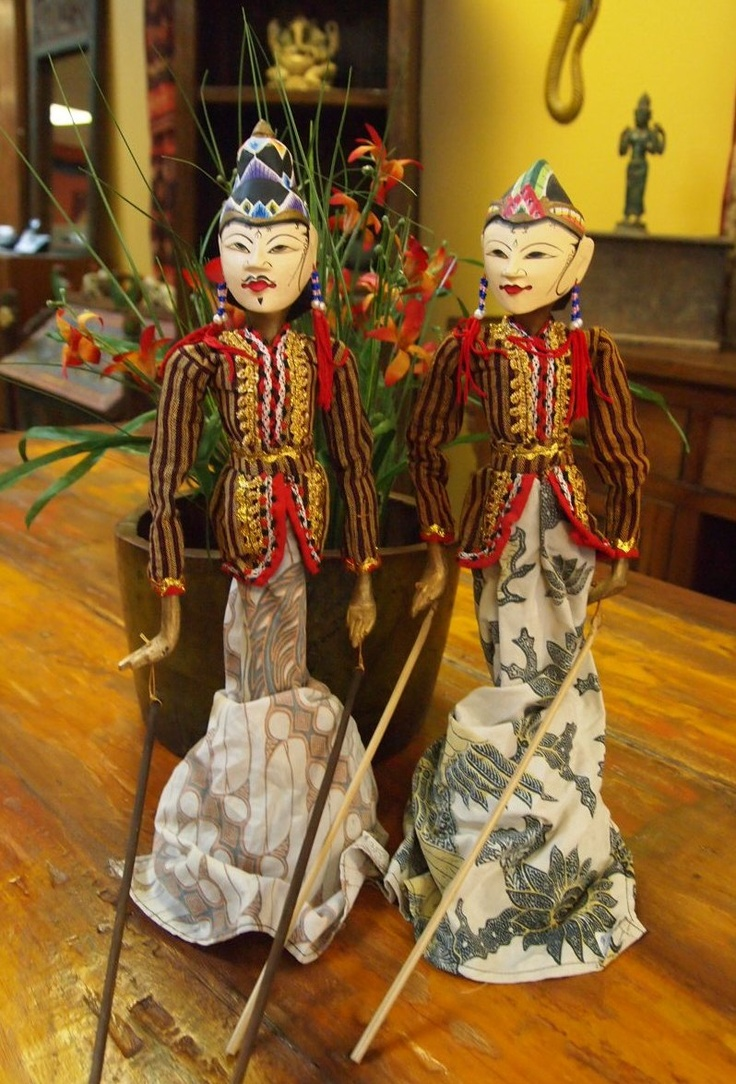 Indonesian Wayang Golek Puppets