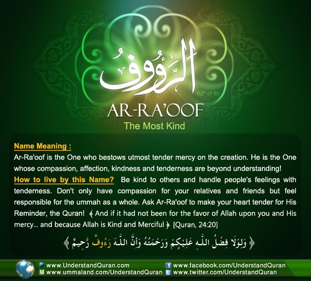 THE ANSWER IS . . . AR-RAOOF! | Understand Quran Academy