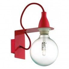 Aplica Ideal Lux, MINIMAL AP1 ROSSO 45221