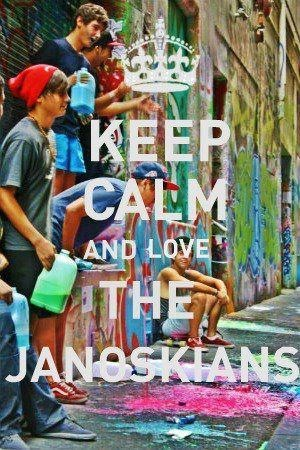 My first Janoskians and by far one of my favorites