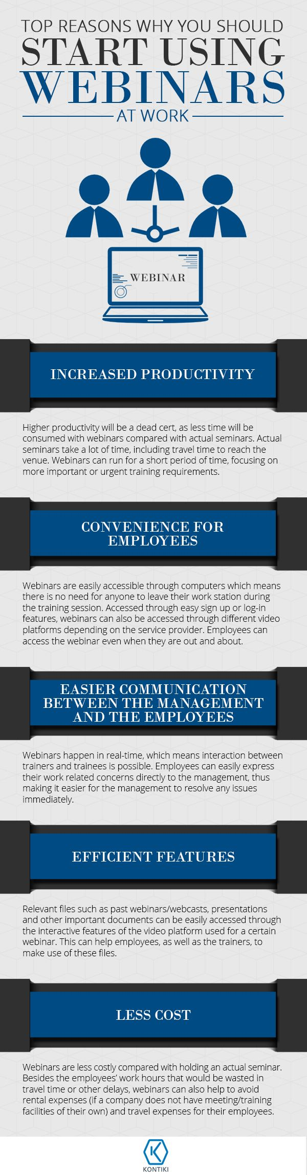 #Infographic: Top Reasons Why You Should Start Using Webinars at Work