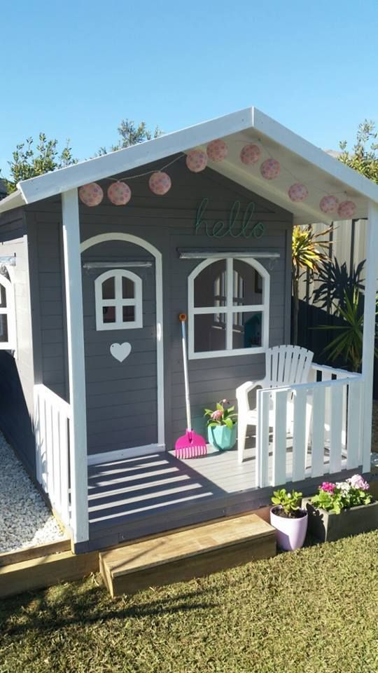 Kids Cubby House Billie Outdoor PlayHouse Timber Wooden188cm High Del Available in Toys, Hobbies, Outdoor Toys, Cubby Houses | eBay!