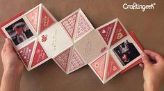 Tarjeta Squash: Manualidad amor y amistad http://www.craftingeek.me/2013/01/tarjeta-squash-manualidad-amor-y-amistad.html