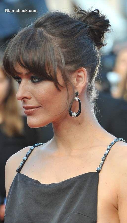 Hairstyling Fine Hair like Milla Jovovich High Bun
