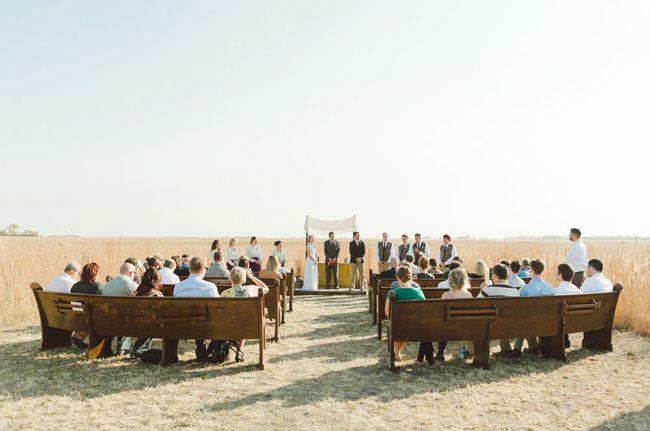 church bench ceremony