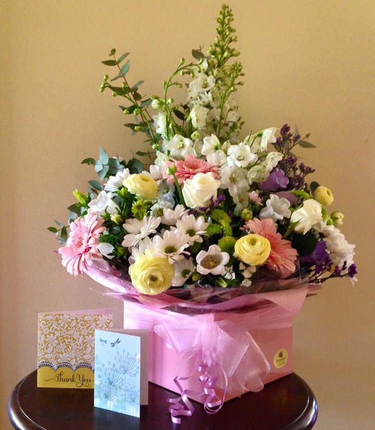 Box Flower Arrangement from Avonlea Flowers