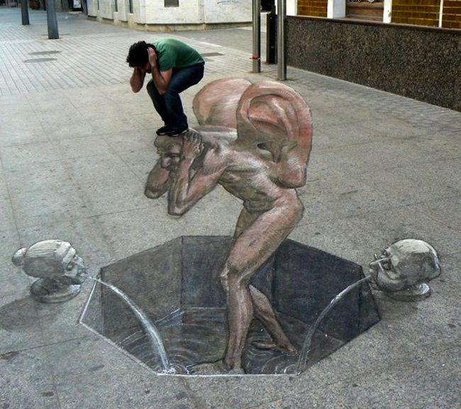Incredibly Surreal 3D Street Art Illusions - My Modern Metropolis