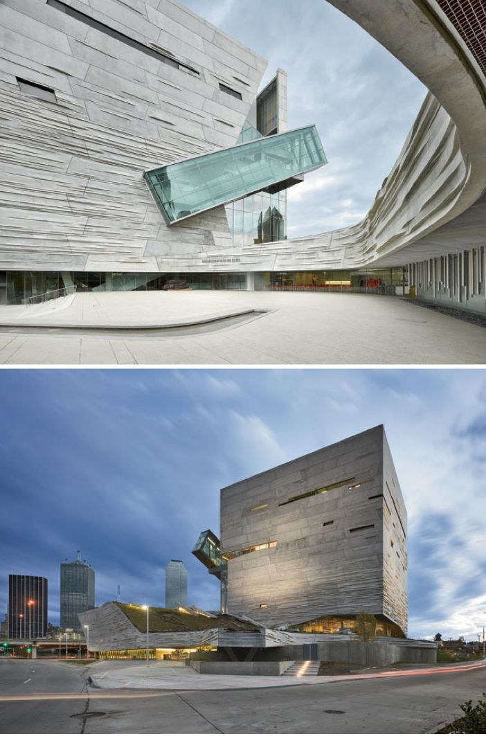 Perot Museum of Nature and Science, Dallas - Morphosis Architects