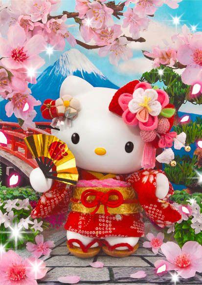94 best hello kitty images on pinterest sanrio hello kitty and hello kitty japan trip 3d lenticular greeting card 3d postcard sanrio japancherryblossoms m4hsunfo