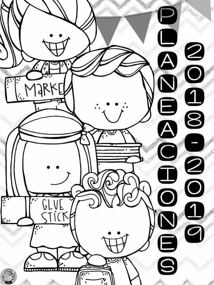 Pin De Andrea Mendez En Pedagogia Portadas De Cuadernos Dibujos
