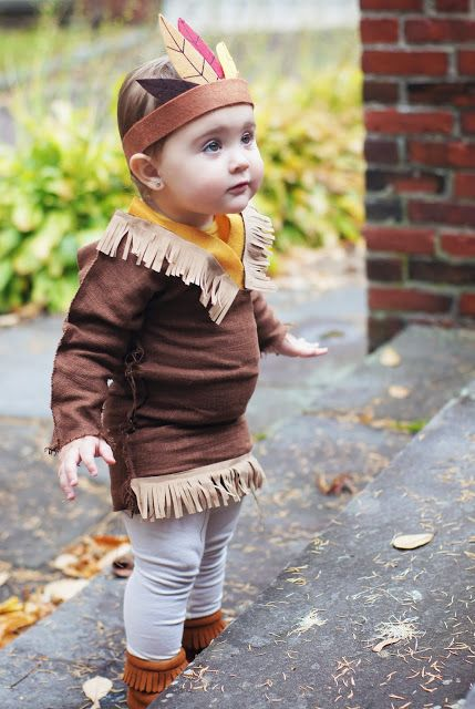 Ella the little Indian/Halloween costume