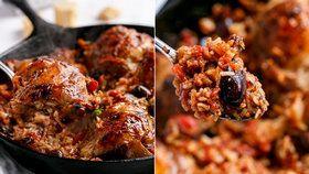 Italské kuře s rýží z jedné pánve Foto: