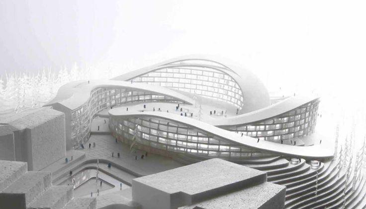 project mountain architecture - Buscar con Google