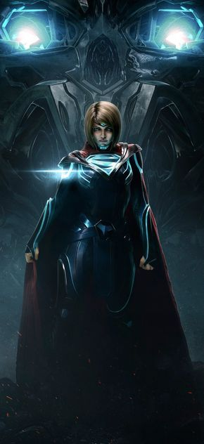 SUPERGIRL awesomeness injustice 2 game art DC comics